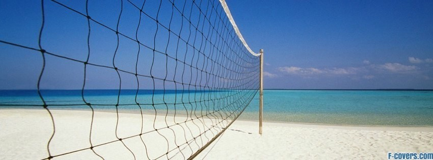 Beach Volleyball Facebook Cover