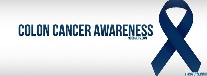 Colon Cancer Awareness Facebook Cover Timeline Photo Banner For Fb